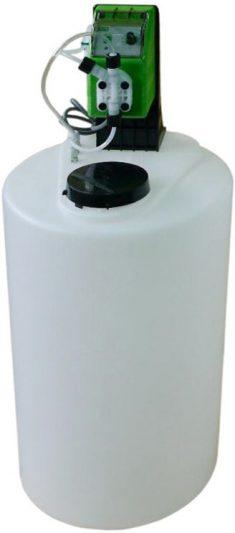 Дозатор хлорсодержащих реагентов